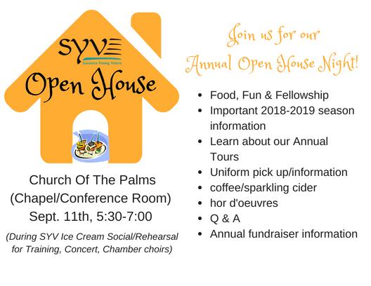 SYV Open House